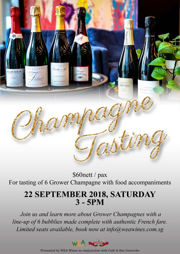 Annual Grower Champagne Tasting