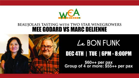 Marc Delienne and Mee Godard Private Tasting2